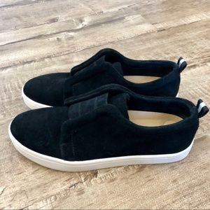 Splendid Dagny Slip-On Sneaker Black Suede 8.5